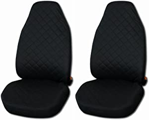 New Front Seat Covers Black piece  1 1