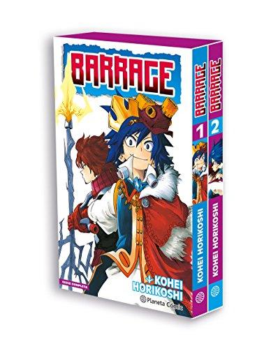 Cofre Barrage nº 01 + 02 (Manga Shonen)