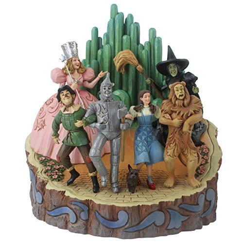 Wizard of Oz Mago di Oz Intagliato con Cuori, Resina, Multi-Colour, Taglia Unica