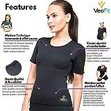 Zoom IMG-2 veofit maglietta di sudorazione camicia