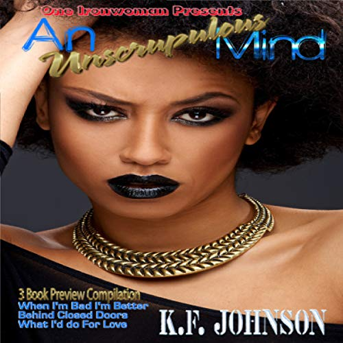 An Unscrupulous Mind audiobook cover art