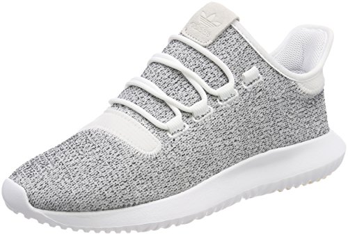 adidas Men's Tubular Shadow Trainers, Multicolour (Footwear White/Grey/Footwear White), 12 UK 47 1/3 EU