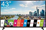 TV LED 43 4K ULTRA HD WI-FI SMART TV BLACK EU