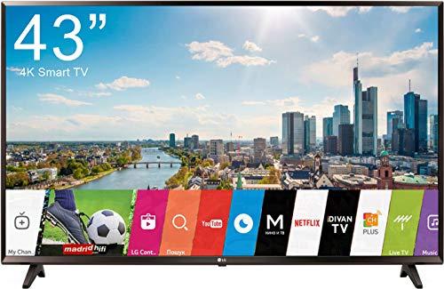 TV LED 43 4K ULTRA HD WI-FI SMART TV BLACK EU