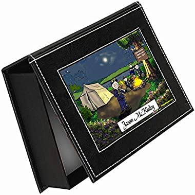 PrintedPerfection.com Personalized Friendly Folks Memory-Keepsake Box: Cub Scout