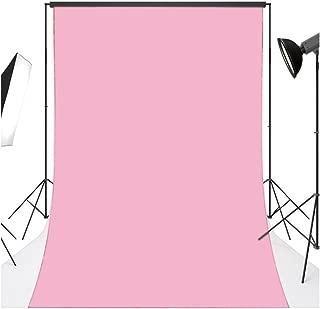 LB 3x5ft Light Pink Backdrop for Photography Kids Newborn Girls Portrait Photo Background BJD Doll Backdrop Studio Prop Vinyl Customized Baby Pink