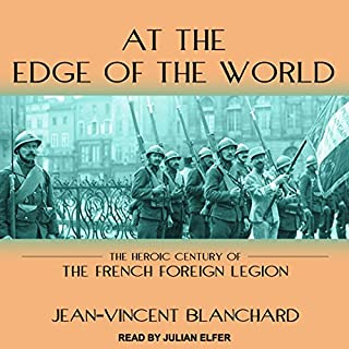 At the Edge of the World audiobook cover art