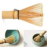 1 batidor de bambú Matcha en polvo Matcha Batidor Matcha Batidor para té japonés Ceremonia Set Ecológico y Práctico