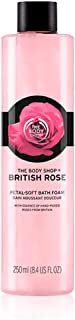 The Body Shop British Rose Petal-Soft Bath Foam 250Ml - 44253
