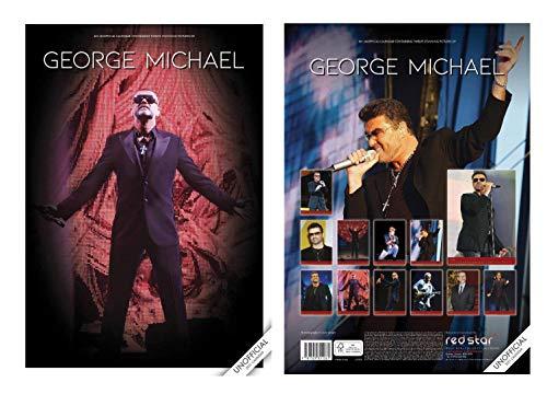 George Michael Kalender 2021 A3 Und George Michael Schlüsselring