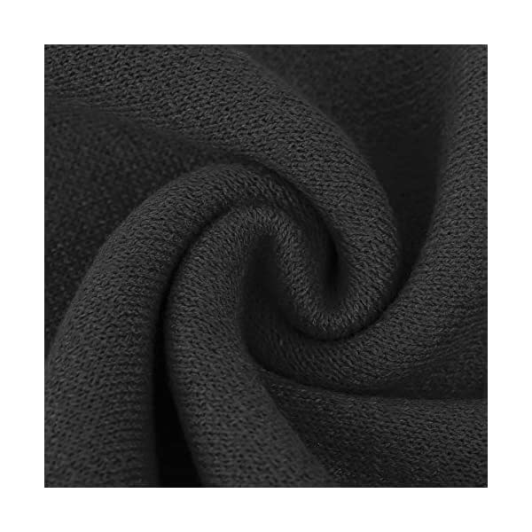 ChunCui Men's Long Thick Soft Warm Knit Cotton Cashmere Feel Scarves for Winter Spring Unisex