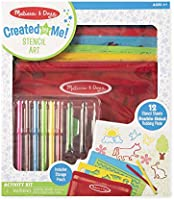 Melissa & Doug 30624 Stencil Art Activity Set Arts & Crafts