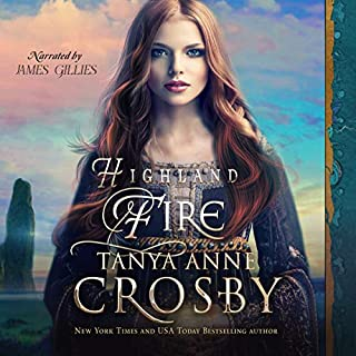 Highland Fire audiobook cover art