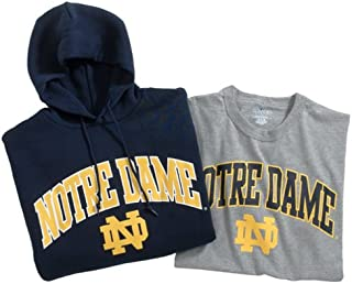 Russell Athletic Notre Dame Pullover Hood and T-Shirt