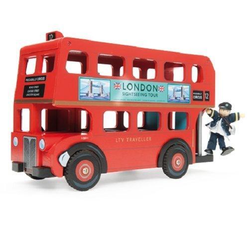 Le Toy Van Londen Bus met Boedkins chauffeur door Le Toy Van