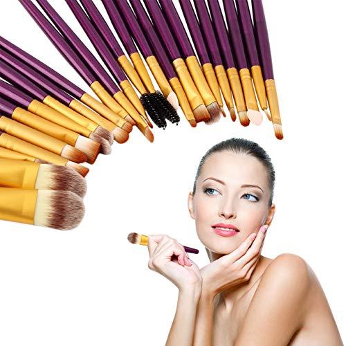 Ashley GAO 20 piezas de pinceles de maquillaje de ojos,...