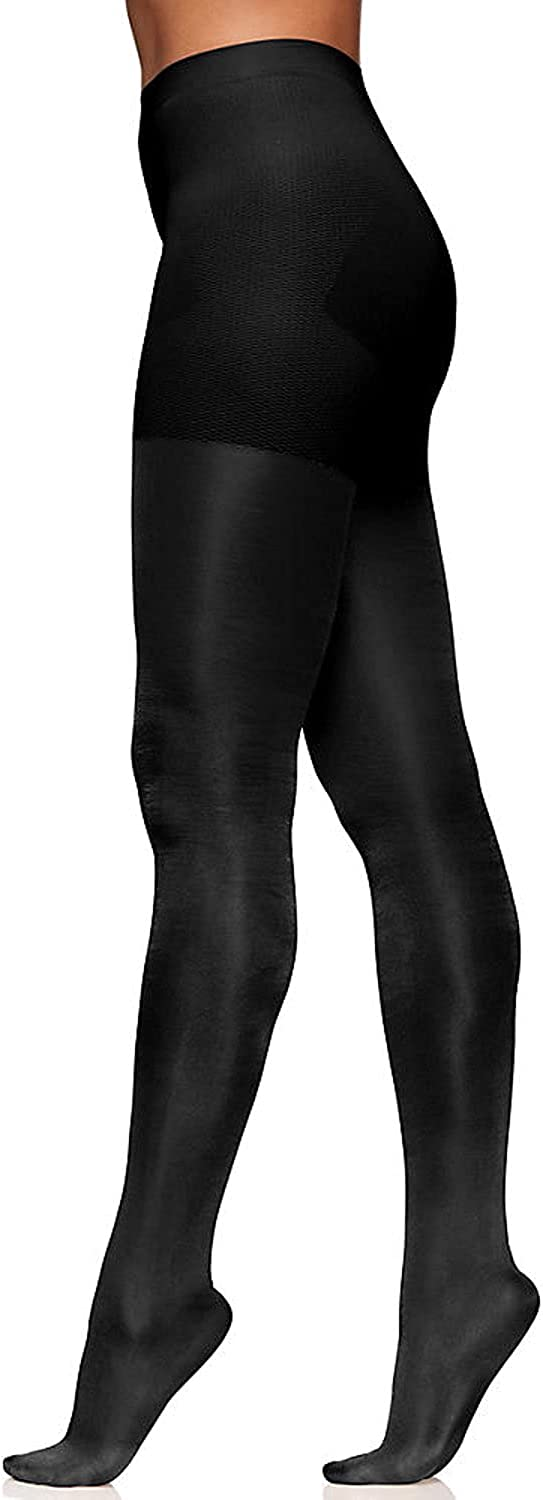 Berkshire Women's Plus Size The Easy On! Plus Size 40 Denier Shine On Opaque Tights