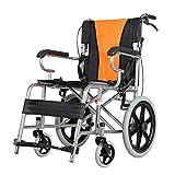 ZXL@ED Rollstuhl-Folding Weichsitz Behinderte Mittel Transportwagen Tablett/T / 1 -