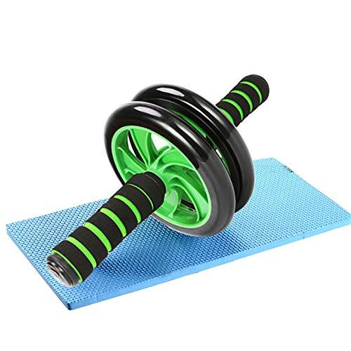 zhppac Bauchtrainer Gerät Roller Bauchroller Power Roller Ab Trainer Ab Trainer Fitnessgeräte für Männer zu Hause Ab Wheel Rollout Ab Trainer Machine Green,32cm-16.5cm
