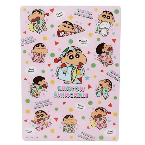 クレヨンしんちゃん[下敷き]デスクパッド/ピンクパジャマ