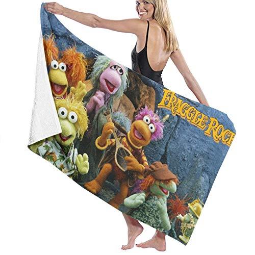 Custom made Fraggle Rock - Toallas de playa para adolescentes y adultos (80 x 130 cm)