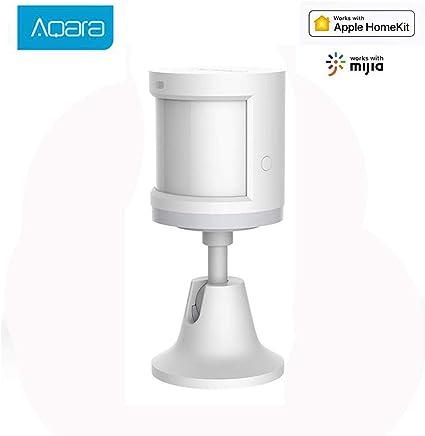 Aqara Sensor de Movimiento, Aqara Mini Detector de Movimiento Sensor de Detección Inteligente de Seguridad