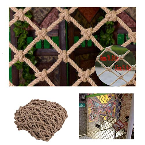 Find Bargain Nylon Rope Net Climbing Rope Net Children's Shatter-Resistant Safety Net Kindergarten G...