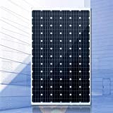 ZSPSHOP 300W Solo Cristal De Silicio Directo De Fábrica 12V24V Batería Placa De Carga De Energía Solar Generación Hogar,300W24V
