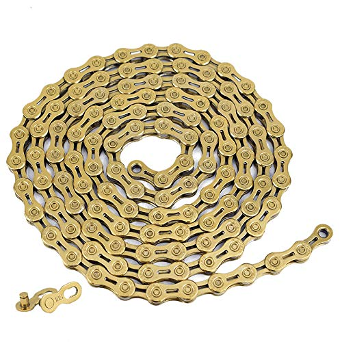Lixada 8/9/10/11 Speed Bicycle Chain MTB Chains Half Hollow Bike Chain VG...