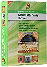 Duck Brand 286209 Stairway Attic Cover, Black