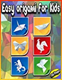 Easy Origami For Kids: 120 Pages : The Great Big Easy ORIGAMI Book for Kids   Animals , Flowers , Dinosaurs , Christmas , Boats , Fishes , cats and ...   Origami kit japanese   Origami Step By Step