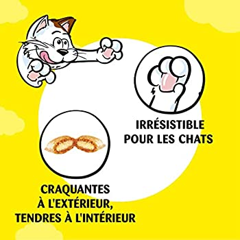 Catisfactions Maxi Friandises pour chat au Fromage Maxi Pack -Pack de 4