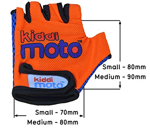 Kiddimoto GLV007S GLV007S-Handschuhe, Gr.S, 2-5 Jahre, orange, S - 3