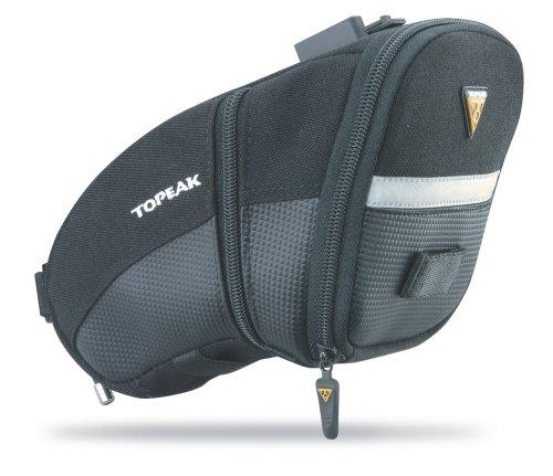 Topeak Aero Wedge Pack (QuickClick) - Bolsa para sillín de Bicicletas, Talla L