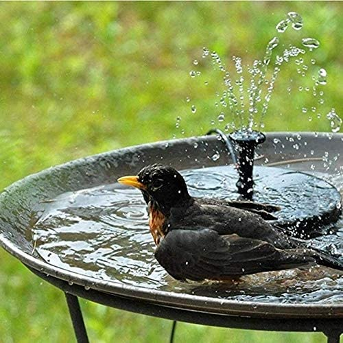 YF sold out Floating Bird Bath Albuquerque Mall Solar Panel Garden Water Fountain Powered
