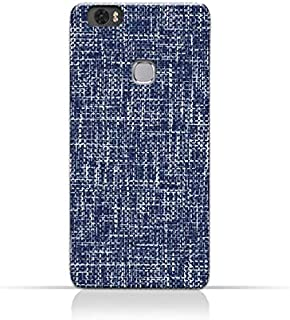 AMC Design Huawei Honor Note 8 TPU Silicone Case with Brushed Chambray Pattern