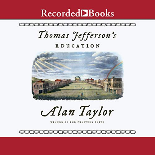 Thomas Jefferson's Education audiobook cover art