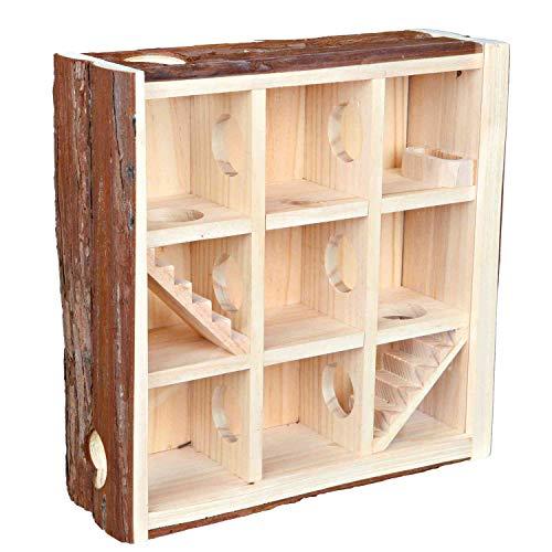 Trixie 61709 Natural Living Spielturm, 30 × 30 × 10 cm