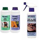 NIKWAX Unisex Bekleidungswaschmittel Nikwax Tech Wash+TX-Direct, 2x1l (VPE3) -