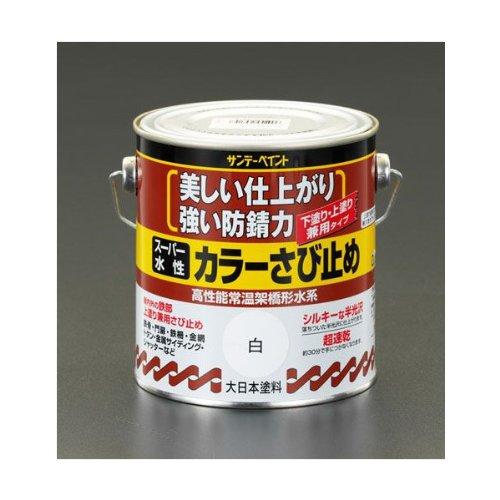 エスコ(ESCO) [水性]錆止め塗料(ねずみ) 1.6L EA942EB-72