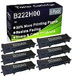 Paquete de 6 cartuchos de tóner (negro), compatible con impresoras Lexmark B222H00 (alta capacidad), compatible con impresoras Lexmark B2236DW, MB2236ADW, MB2236ADWE