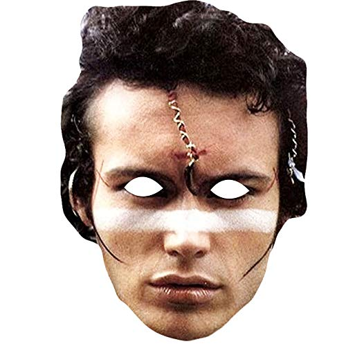 Adam Ant 80s Mask with Elastic String