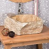 wanda collection Lavabo sobre encimera para Cuarto de baño de Piedra ónix 30-35 cm