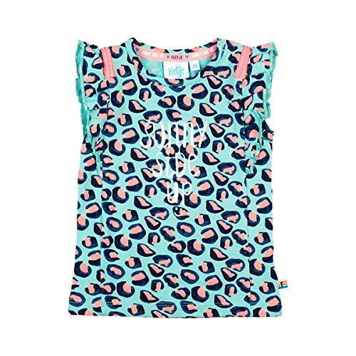 Feetje T-Shirt à Manches à ailettes léopard Top bébé vêtements bébé, Menthe/Corail