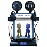 HICTOP Tenlog D3 pro 3D Printer IDEX Independent Dual Extruder 24V D3 Hero Direct Feed 11.8x11.8x13.8 inch(300x300x350mm) (Dual Extruder)
