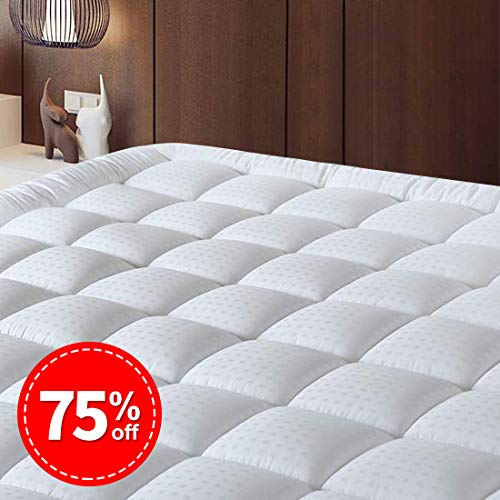 Memory Foam Mattress Topper 5FT King Size 152cm x 200cm 2 Inch Depth