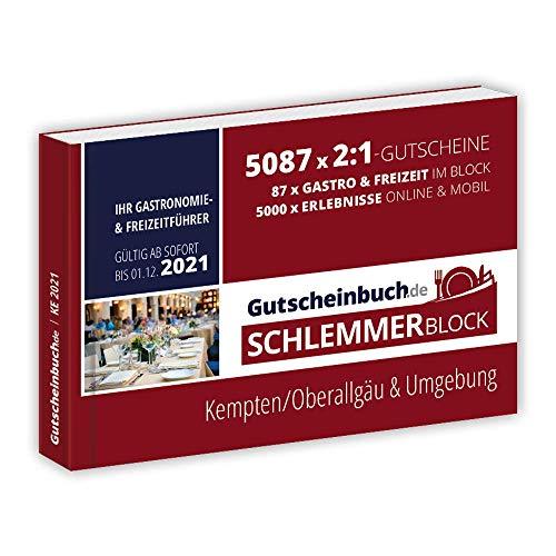 Gutscheinbuch.de Schlemmerblock Kempten/Oberallgäu & Umgebung 2021