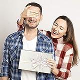 ZWOOS Geschenkpapier, 6 Blatt Geschenkpapier Valentinstag Geschenkpapier Geburtstag Geschenkpapier Gold Edel für Urlaub, Geburtstag, Hochzeit, Ostern, Halloween Geschenk (70 * 50cm) - 7
