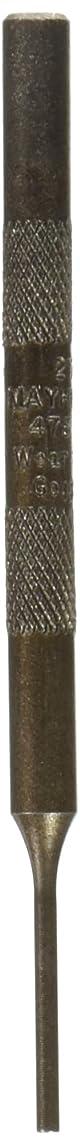 Mayhew Select 21702 3/32-Inch Knurled Pin Punch
