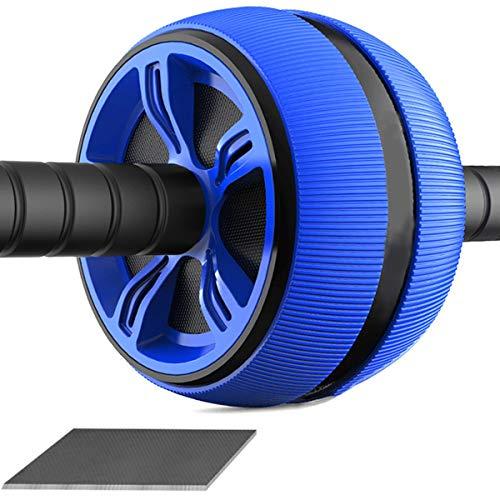 Yankuoo buikspierrol van ABS-materiaal, voor fitnesstoepassing, stille wielen voor de armen naar achteren van de buik Core Trainer Body Shape trainingsaccessoires